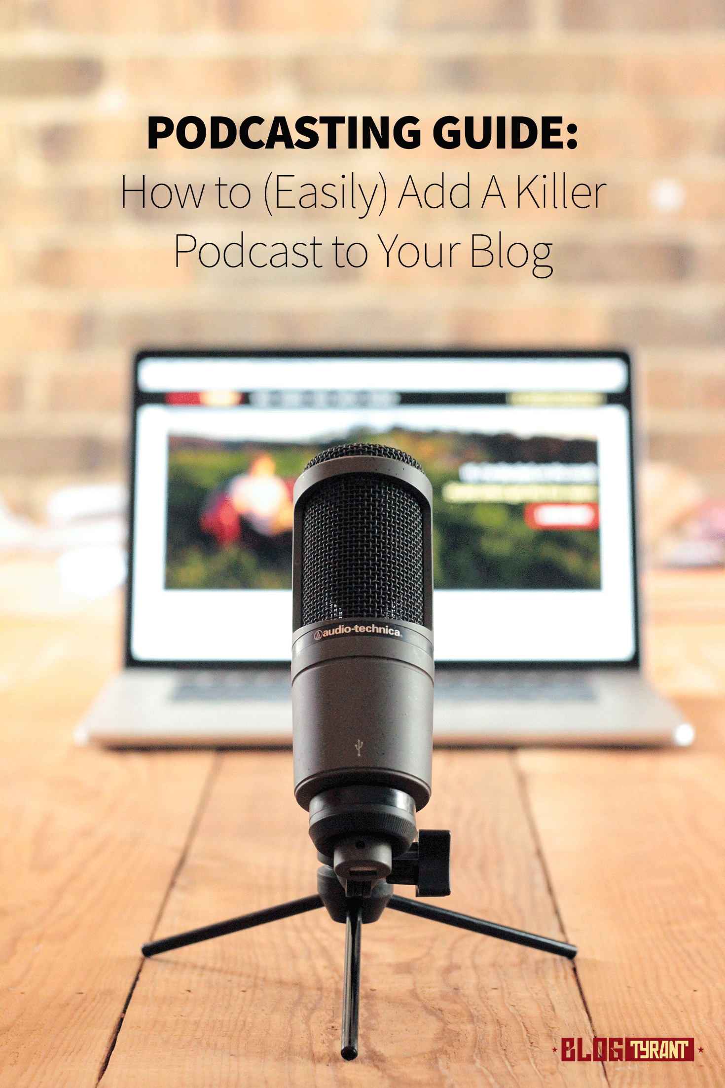 how to add a podcast to your blog