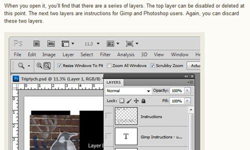photoshop tutorial screenshots