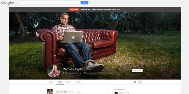 Google+ Header Banner