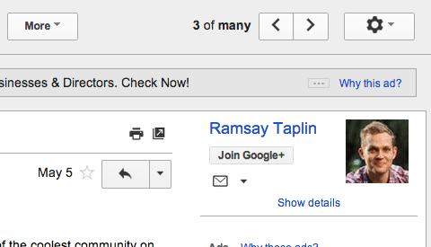 Google Plus Aweber
