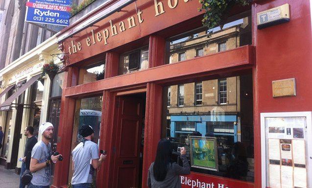 the elephant house where JK rowling wrote harry potter