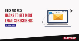 hacsk to get more email subscribers