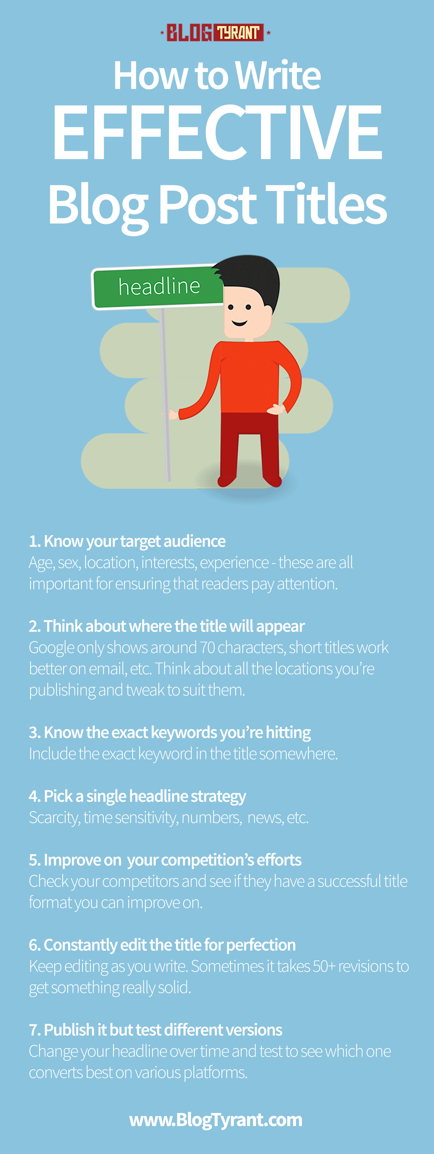 Blog: A Huge Guide On How To Write Effective Post Titles
