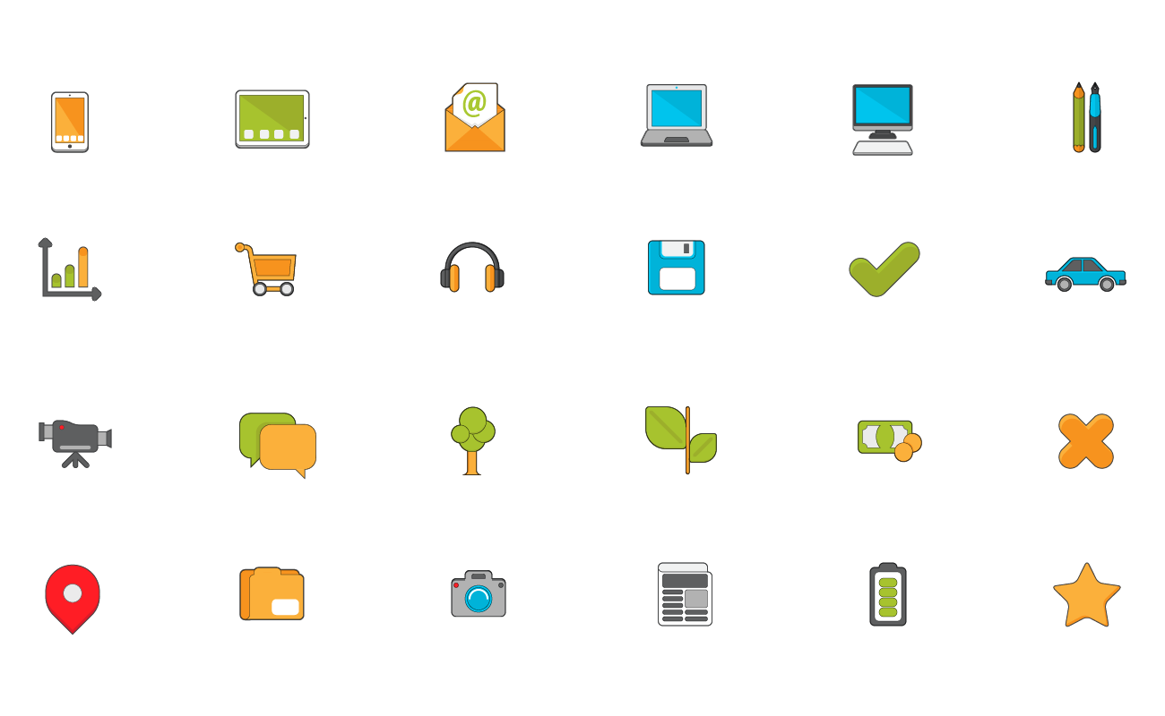 A Free Blogging Icon Set to Use However You Like