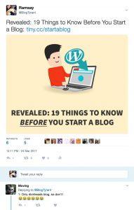 do not blog
