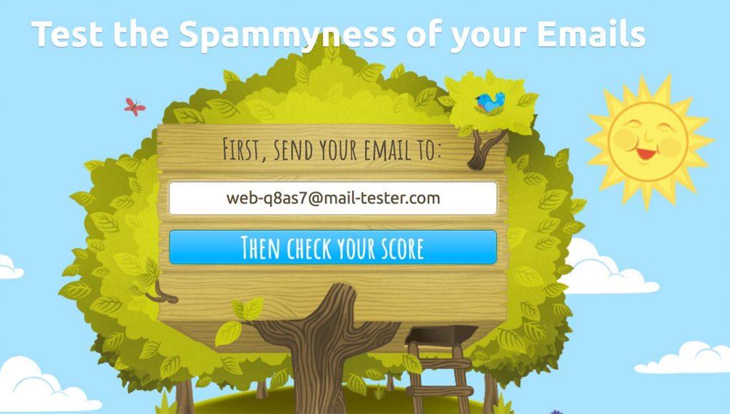 probador de correo electrónico