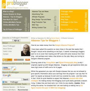 make money online problogger