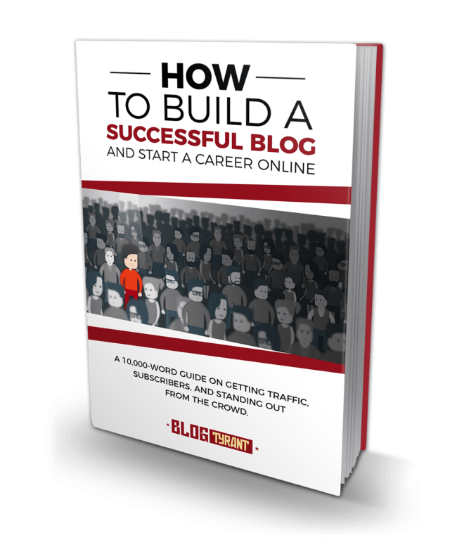 start a blog ebook cover
