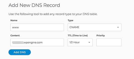 Update DNS - Install WordPress on Siteground