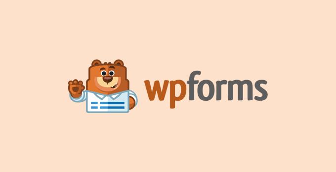 WPForms - Best WordPress survey plugin