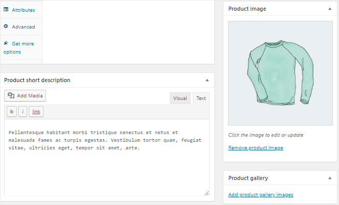 Add product image
