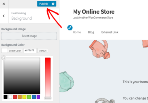Change Background Color of your eCommerce store