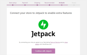 Connect store to Jetpack