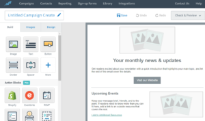 edit constant contact newsletter