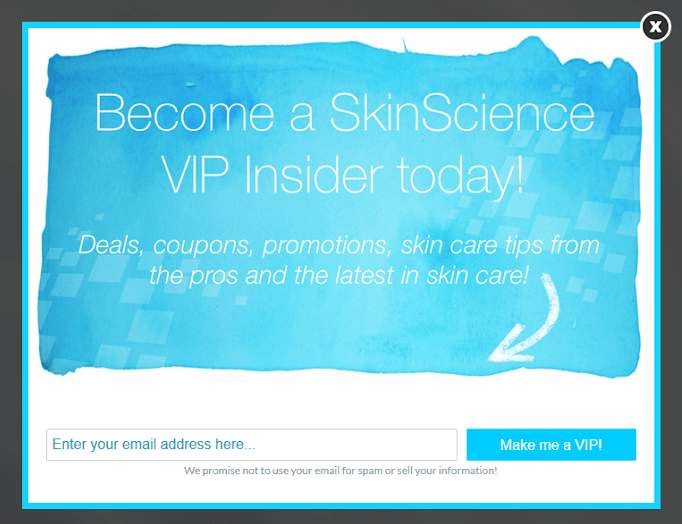 Popups are a highly effective way to grow your email list.