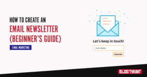 how to create email newsletter