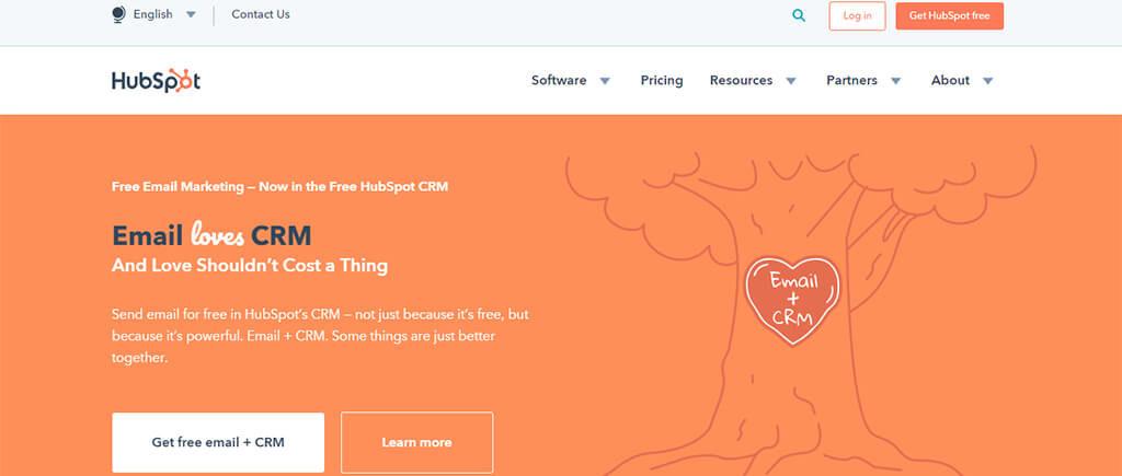 HubSpot marketing automation software