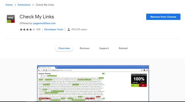 check my links - backlinks guide