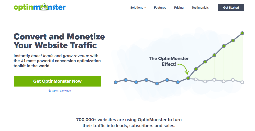 OptinMonster - best lead generation software