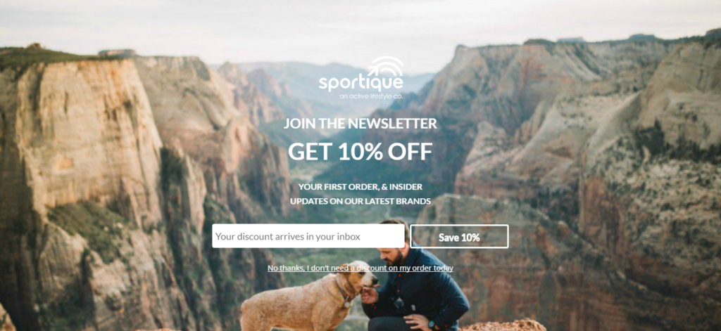 welcome mat optin to get more email subscribers