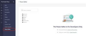 Teachable Power Editor