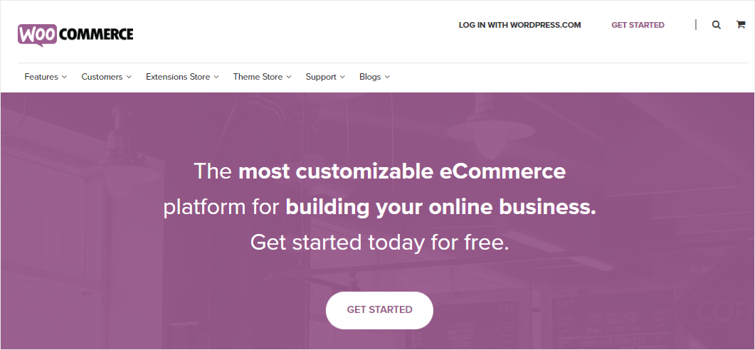 WooCommerce - best eCommerce platform for WordPress