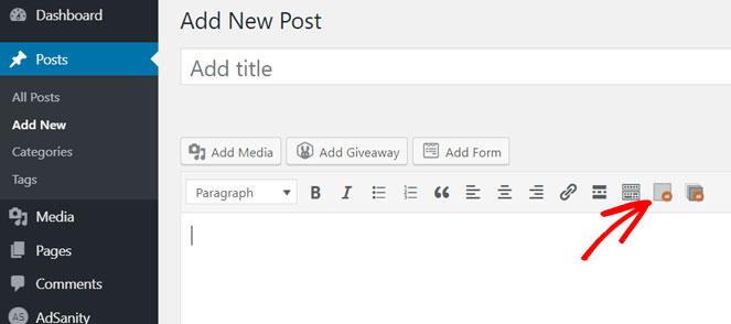 add adsense to blog post