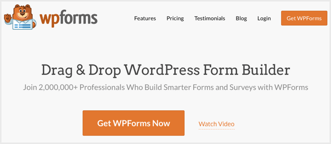 WPForms Drag-and-Drop WordPress Form Builder