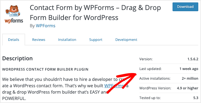 wpforms-example 3 Things to Check Before You Install a Plugin