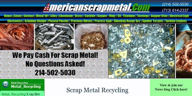 unfortunate domain names like American Scrap Metal