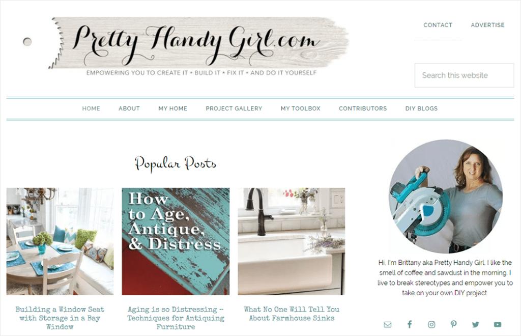 Exemple de blog