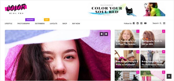 color-blog-wordpress-theme