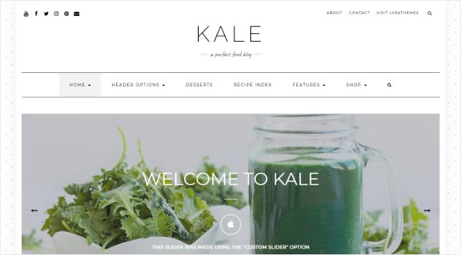kale-best-wordpress-themes-food-blog