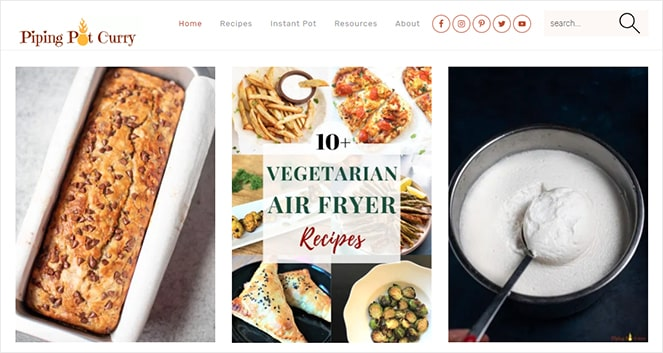 how to start a food blog and make money example