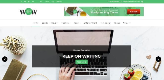 wow-blog-theme