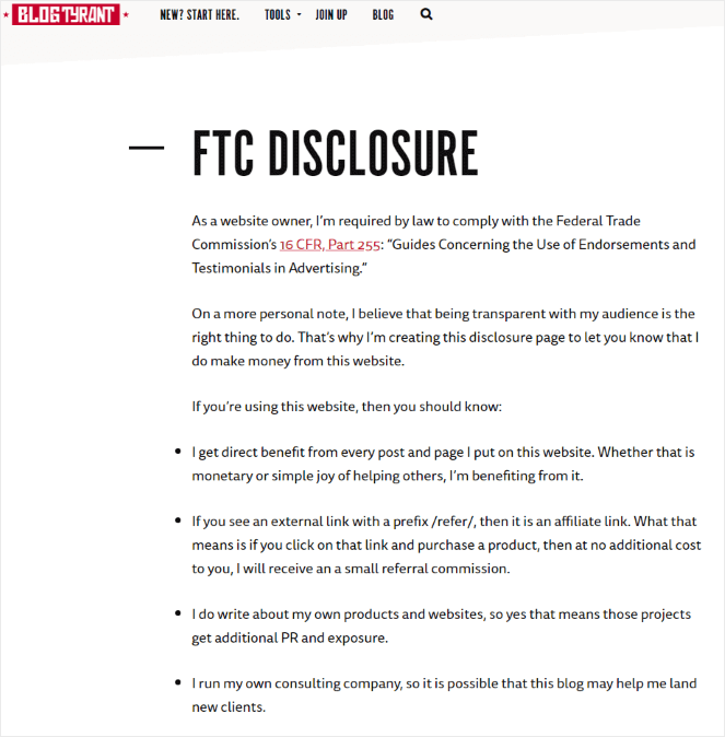 Blog-Tyrant-disclosure
