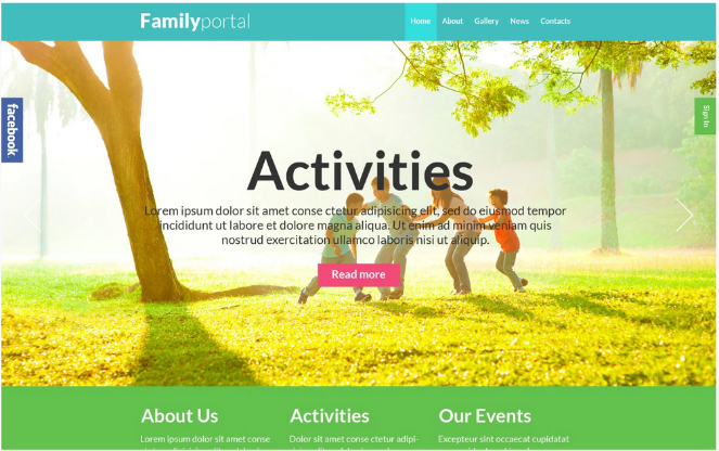 family-board-wordpress-theme