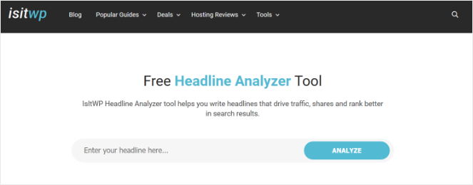 isitwp-headline-analyzer