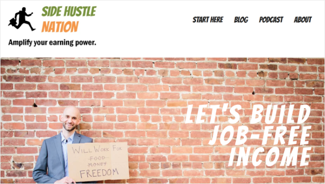 side-hustle-nation-homepage