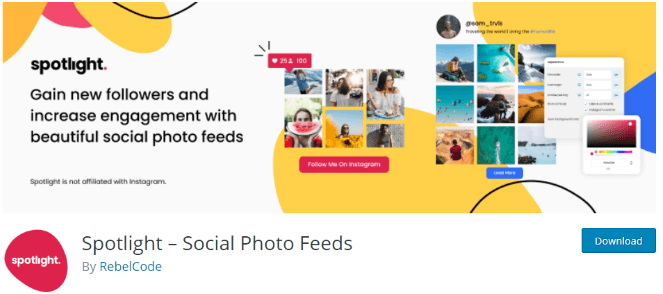 Spotlight Social Feeds