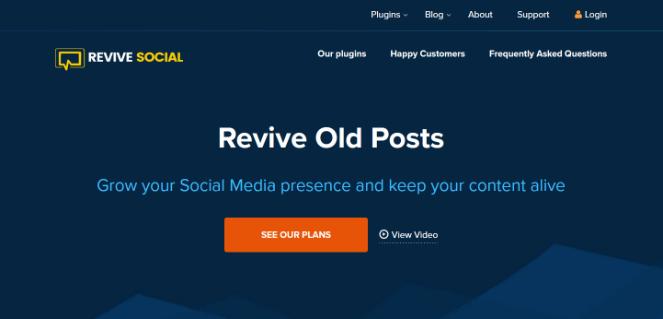 far rivivere i vecchi post