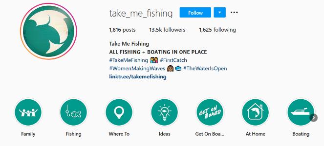 take me fishing instagram bio