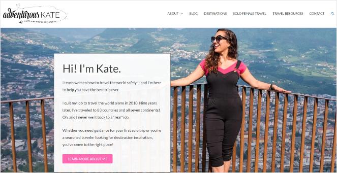adventurous kate - best blog idea