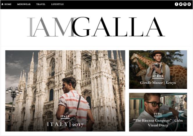 i am galla - best blog ideas