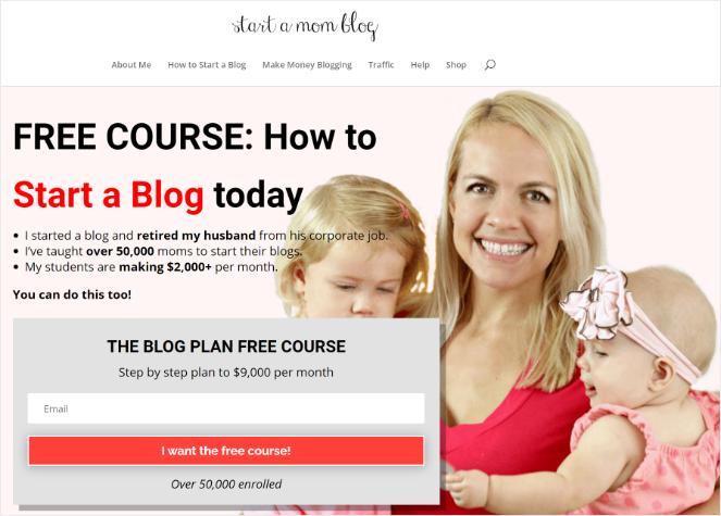 start a mom blog - mom blog idea