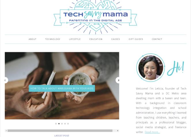 tech savvy mama - best blog idea