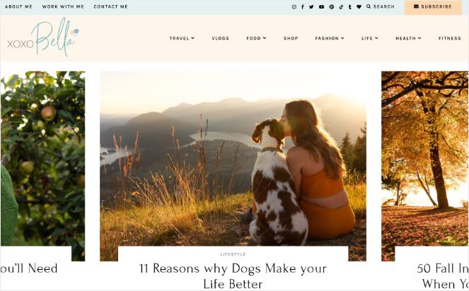 xoxobela - best blog examples