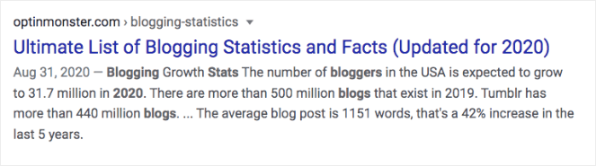 """Ultimate List of Blogging Statistics and Facts (Updated for 2020)"""