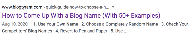 """How to Come Up With a Blog Name (With 50+ Examples)"