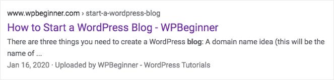"""Comment démarrer un blog WordPress - WPBeginner"""